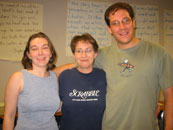 Amy Tibbetts, Marcia Richards, and Jeff Lyman