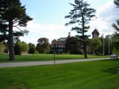 The center of St. Anselm College, the Quad