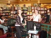 Susan Sielinski and Rhiannon Held at the Barnes & Noble 2006 Odyssey Slam